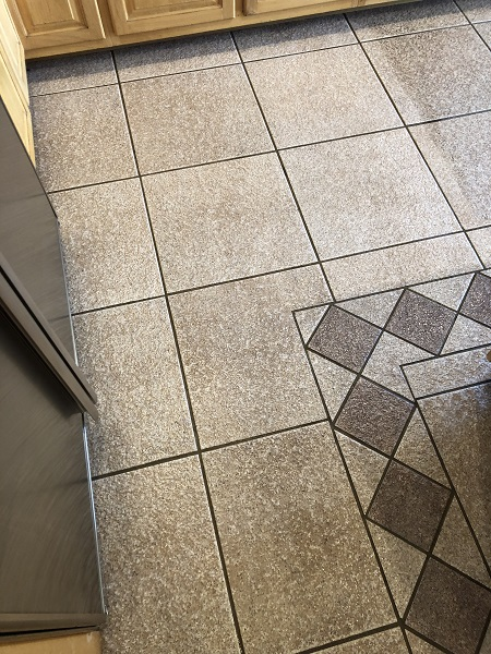 Tile and Grout After Cleaning