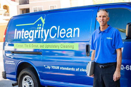 Integrity Clean Van With Business Owner